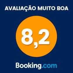 Confira nossa avaliação no Booking.com